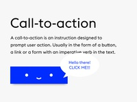 The Web Project - Call-to-action