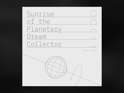 Planetary Dream Collector by Terry Riley
