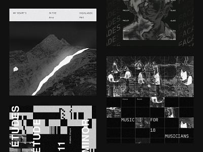 🎹 Translating Music Into Images II 🎹 cover art branding vector graphic black illustration music design typography