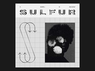 Sulfur Playlist design vector logo graphic black illustration music typography