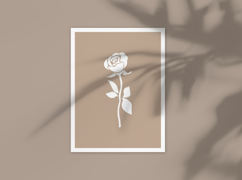 Rose poster.