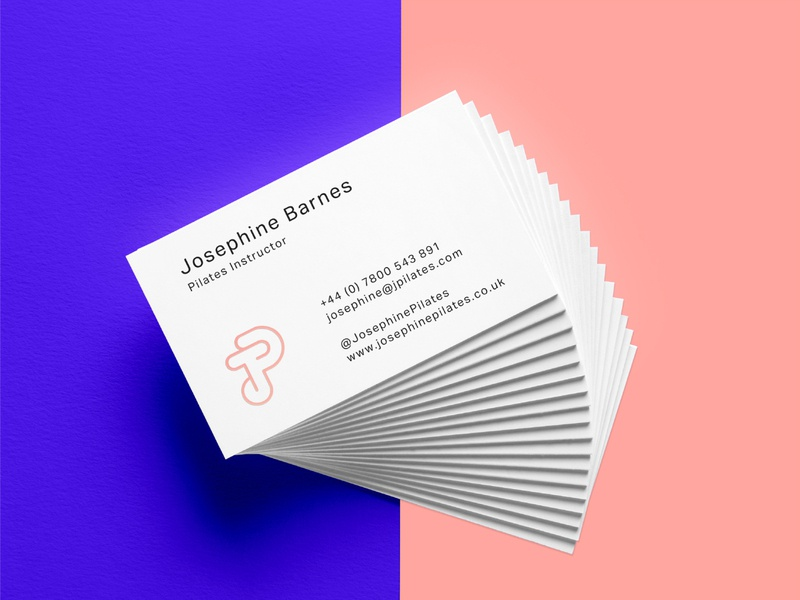 Josphine Pilates business card