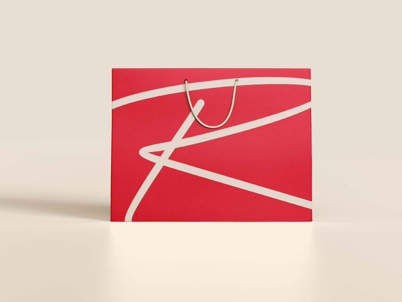 Romero Retail Bag calligraphy design fashion identity fashion brand fashion logo logo design logotype calligraphy logo calligraphy logo a day logo design concept logo branding concept branding design identity branding branding and identity branding identity design identity
