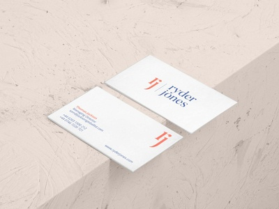 Ryder Jones business cards