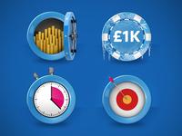 Sky Poker promotion logos