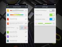 """File Manager App Kit"" Download and Settings"