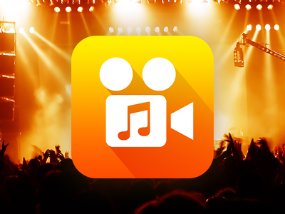 """""""Video-To-Audio Converter"""" Icon icon player recorder ios iphone application app colorful ui converter video music"""