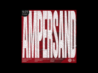 Ampersand Party Poster