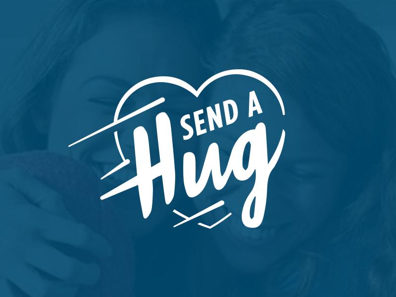 Send A Hug Logo By Daniel Jecha Dribbble Dribbble