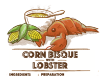 Corn Bisque with Lobster