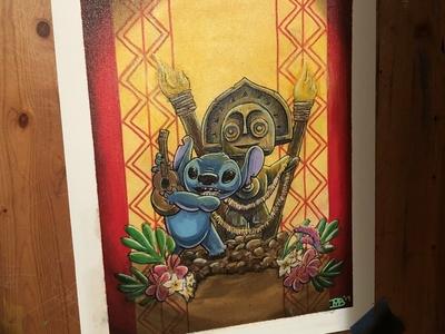 Maui and Stitch