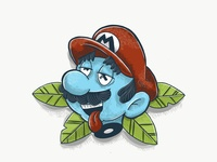 Mario doodle