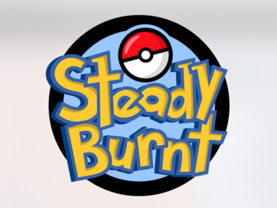 Steady Burnt Pokemon Rip