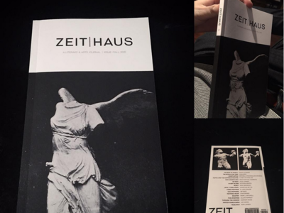 ZEIT | HAUS Book Cover Design