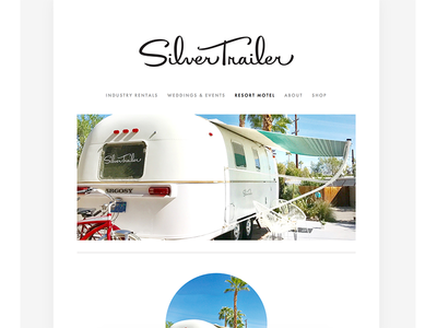 Silver Trailer – Website Redesign