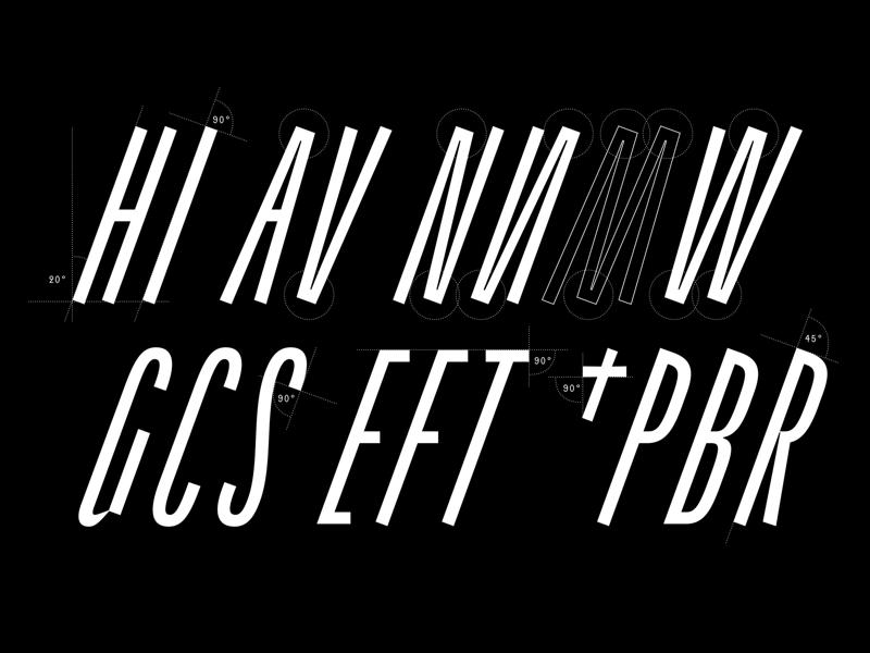 Theodor. futurefonts angled slanted italic narrow condensed font design font sans serif grotesque typography typeface design type design type