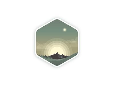 Reach 04 flat minimal web app icon typography branding logo ui illustration