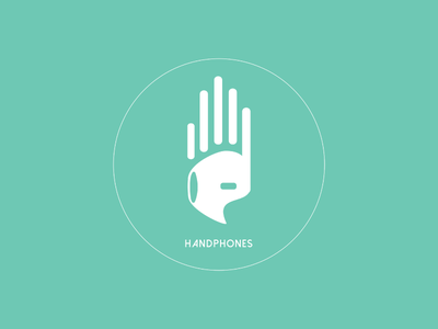 Handphones creative art vector adobe illustration illustrator graphic beats music designer design logo