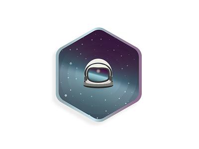 Odyssey future stars logodesign logo vector icon illustrator design astronaut explore scifi space