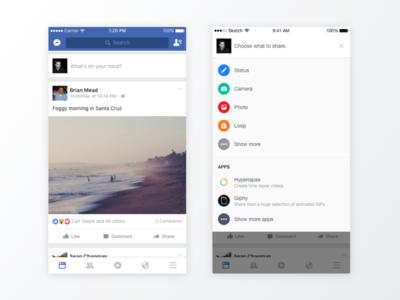 Facebook Composer - iOS