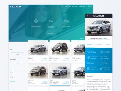 ClutchCanada.com Website and Mobile Web Design