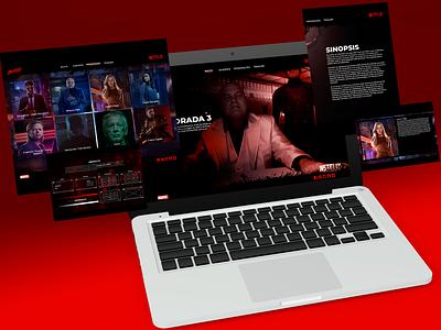 Daredevil Netflix - Design Web daredevil design web graphic design