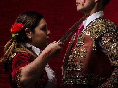 Matador - Sesión fotográfica illustrator torero photoshop photograhy design graphic design
