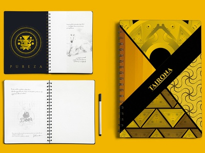 Notebook design - TAIRONA