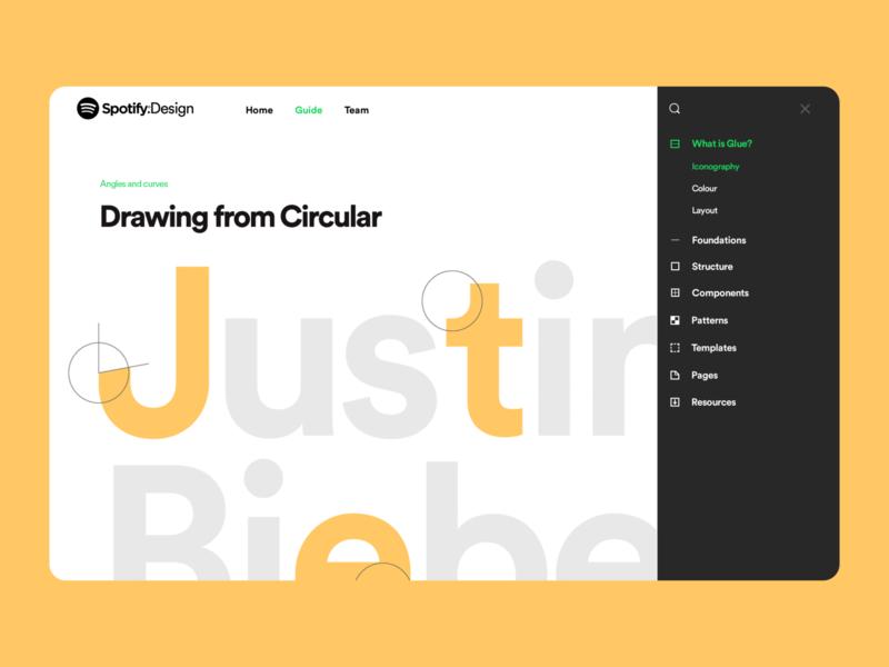 Spotify Design Team  Website music webpage design ux ui color branding spotify brand typography typeface web design website design website web