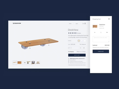 Standing Desk Product Page ui design ecommerce 3d animation graphics interface grid typography website design design website web ui ux