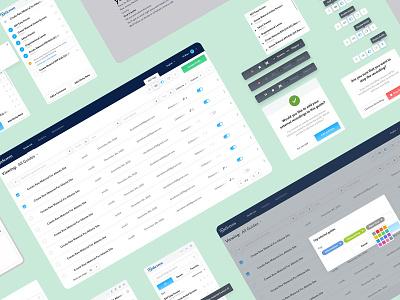 OnScreen Digital Adoption Platform Product Toolkit platform portal product design atomic design component design component library ui kit ui design toolkit grid website design app startup design web website ui ux