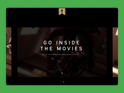 Searching The Academy Museum of Motion Pictures product design cinema academy awards oscars hollywood filmmaking motion design movies film video responsive search mobile homepage website web design ui ux