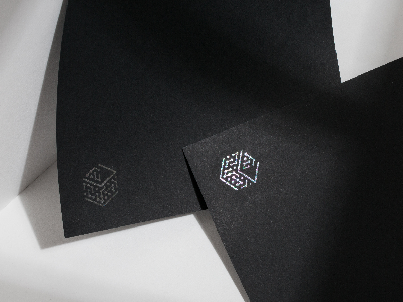 DeepCube Brand Collateral – Designed and Developed with AI print collateral photography deep learning artificial intelligence ai typogaphy graphic design identity design brand identity brand design branding brand logo