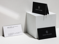 DeepCube Business Cards – Designed and Developed with AI