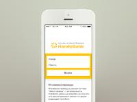 Handybank login 1