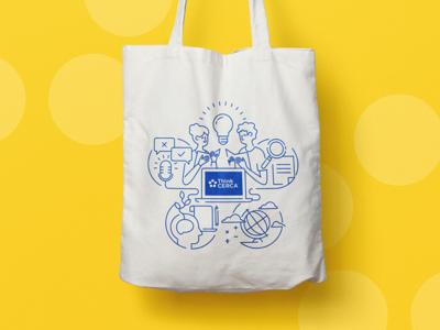 ThinkCERCA Tote Bag