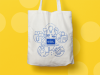 ThinkCERCA Tote Bag