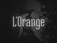 L'Orange logo concept