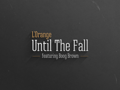 """""""Until The Fall"""" Album Cover"""