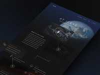 ICEYE Homepage Concept Design