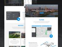 Dronesense Marketing Site