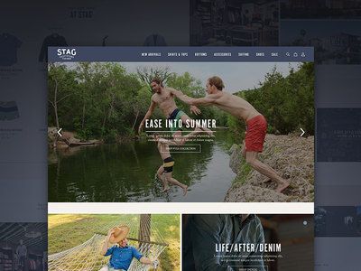 Stag Website