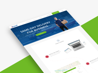 Dropoff Marketing Site