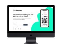 Dexpay Landing Page