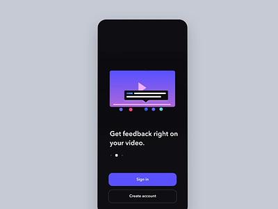Launch & walkthrough animations iphone ui logo walkthrough launch motion illustration mobile ios animation app