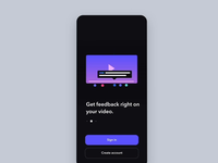 Launch & walkthrough animations iphone ui logo walkthrough launch motion illustration mobile ios animation app