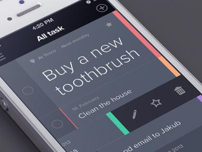 Task app task app edit flat