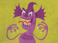 Creature from the Mauve Lagoon