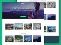 TRAVELL - Homepage