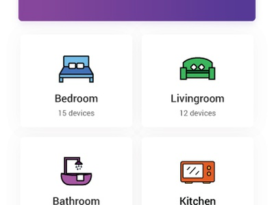 Otomate - Smart Home App android mobile ux ui iot automation app home smart otomate